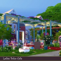 Ladies Boho Cafe by evi