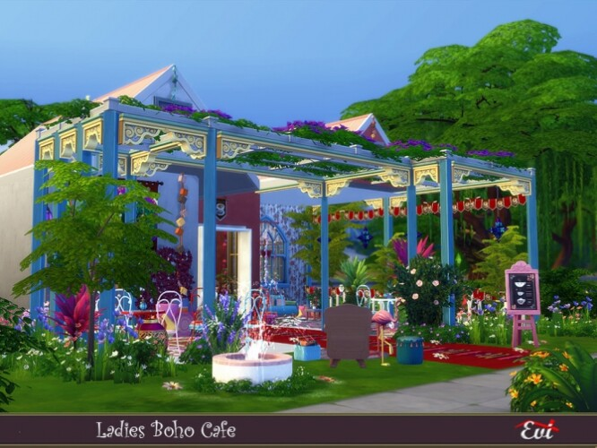Ladies Boho Cafe by evi