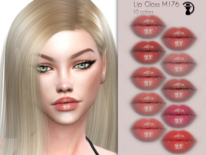 Lip Gloss M176 by turksimmer at TSR image 3317 670x503 Sims 4 Updates