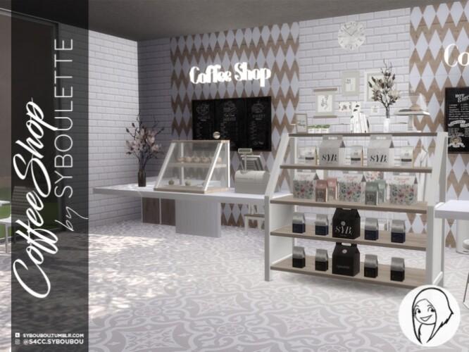 Coffee Shop Set by Syboubou