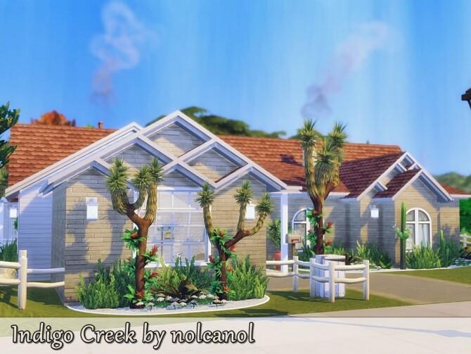 Indigo Creek house by nolcanol at TSR image 337 670x503 Sims 4 Updates