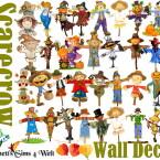 Wall Deco Scarecrow