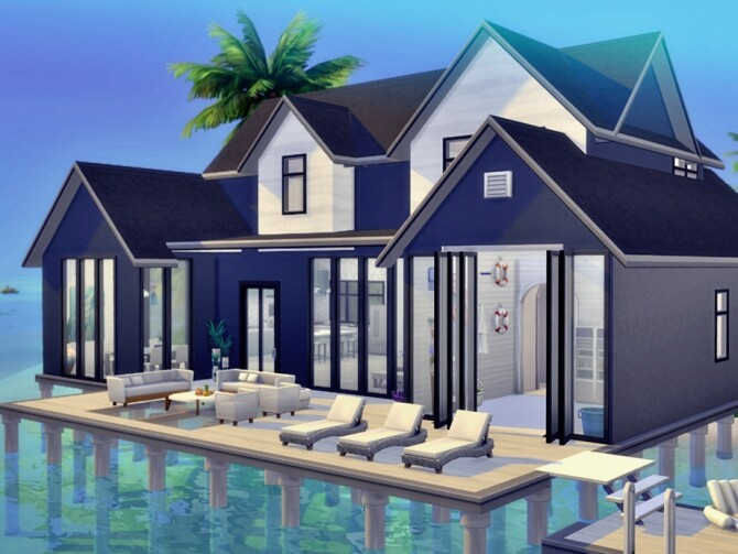 Sims 4 Summer Home by Summerr Plays at TSR