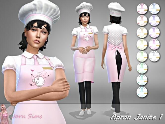 Apron Janite 1 by Jaru Sims