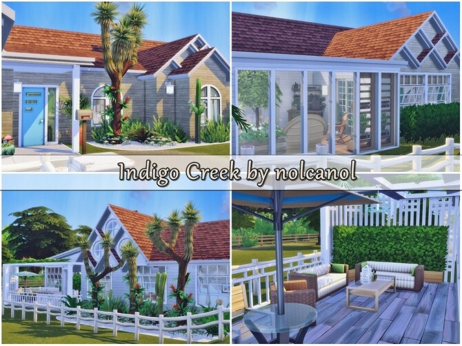 Indigo Creek house by nolcanol at TSR image 347 670x503 Sims 4 Updates