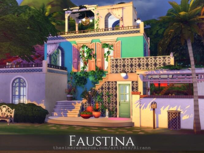 Faustina Mediterranean seaside villa by Rirann