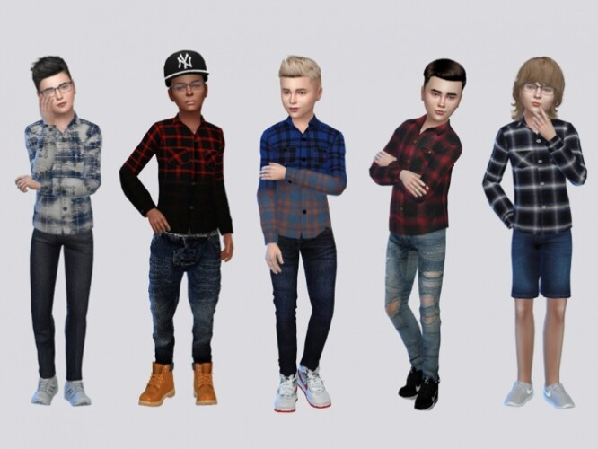 ButtonUps Co I Top Kids by McLayneSims