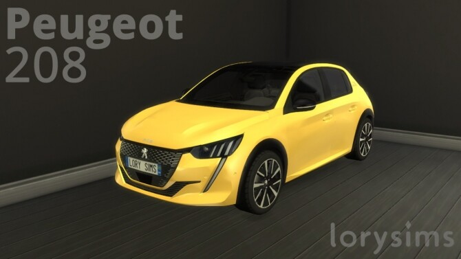 Peugeot 208 by LorySims