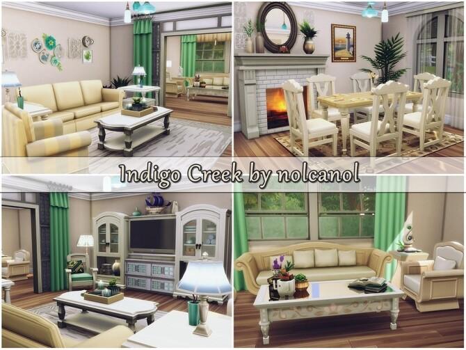 Indigo Creek house by nolcanol at TSR image 357 670x503 Sims 4 Updates