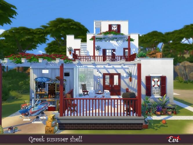 Greek summer shell by evi