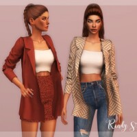 Jacket Top Outfit TP-345 by laupipi