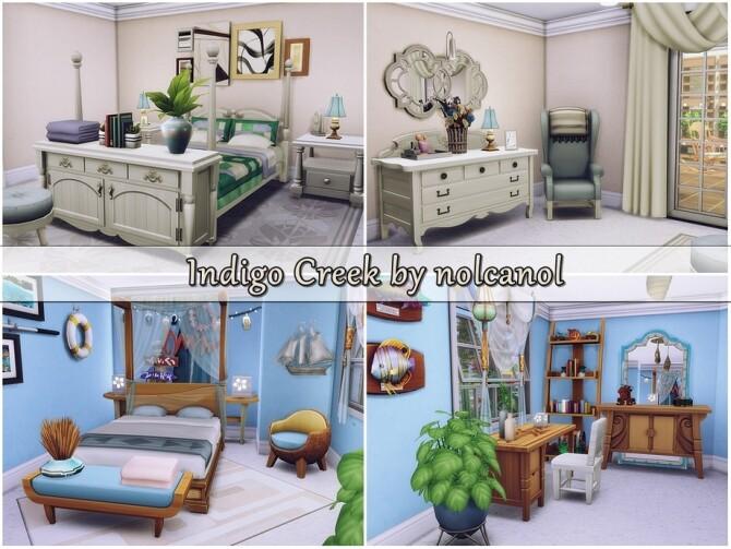 Indigo Creek house by nolcanol at TSR image 366 670x503 Sims 4 Updates