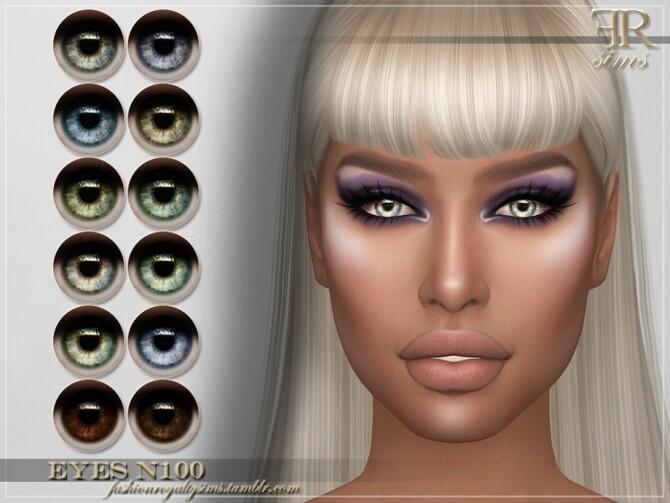 Sims 4 FRS Eyes N100 by FashionRoyaltySims at TSR