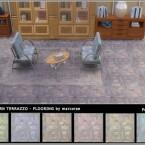 Worn Terrazzo Flooring by marcorse