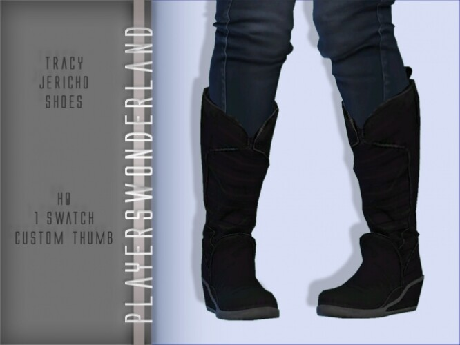 Tracy Jericho Shoes by PlayersWonderland
