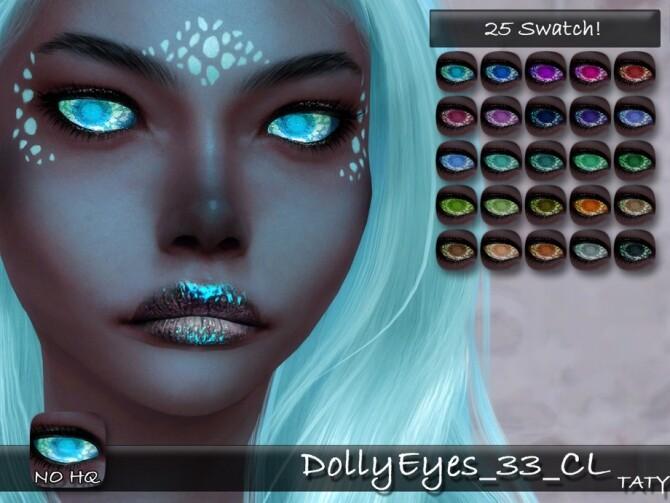 Dolly Eyes 33 CL by tatygagg at TSR image 383 670x503 Sims 4 Updates