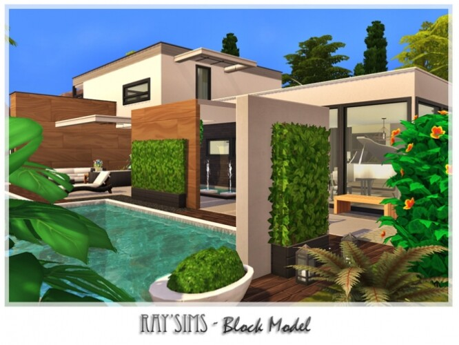 Block Model Home by Ray_Sims