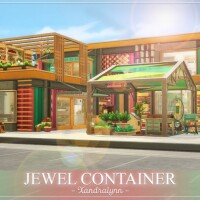Jewel Container by Xandralynn