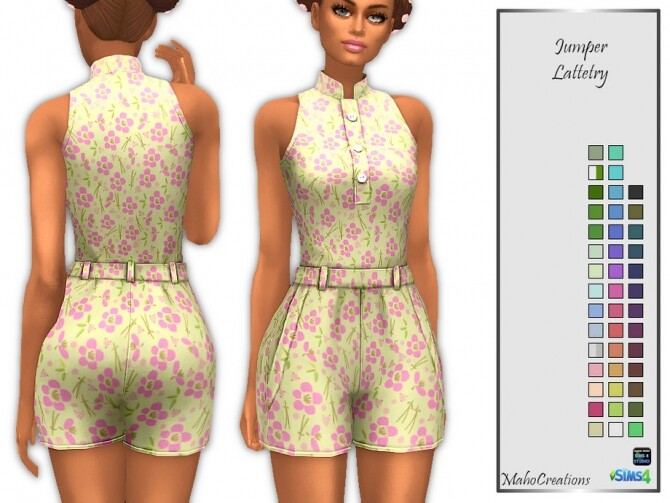 Jumper Lattetry by MahoCreations at TSR image 402 670x503 Sims 4 Updates