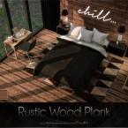 Rustic Wood Plank by Caroll91