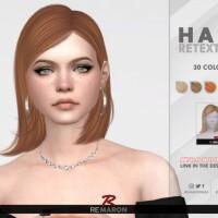 Sophia Hair Retexture by remaron