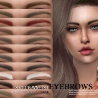 Eyebrows 202011 by S-Club WM