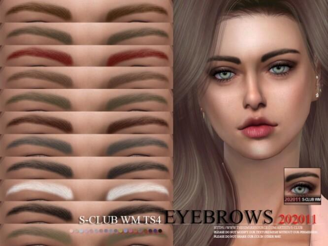 Eyebrows 202011 by S-Club WM