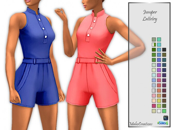 Jumper Lattetry by MahoCreations at TSR image 413 670x503 Sims 4 Updates