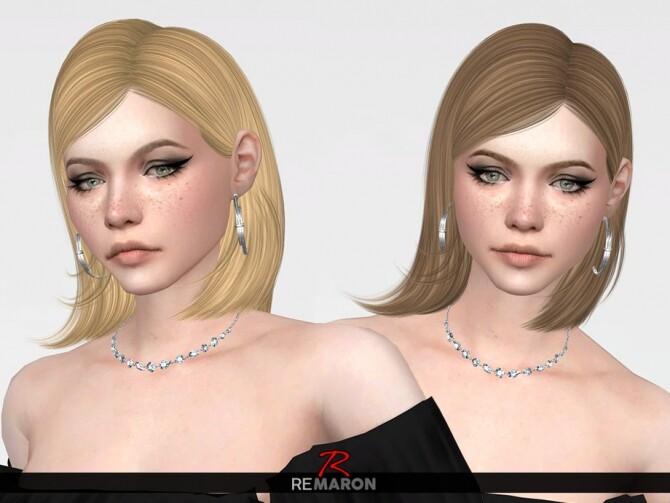 Sims 4 Sophia Hair Retexture by remaron at TSR