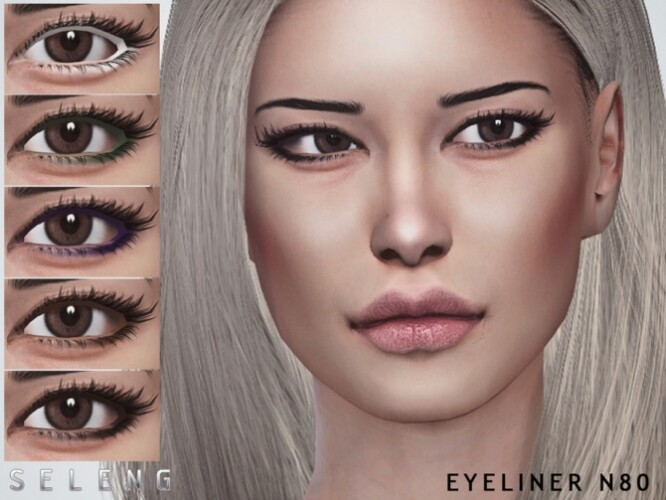 Eyeliner N80 by Seleng