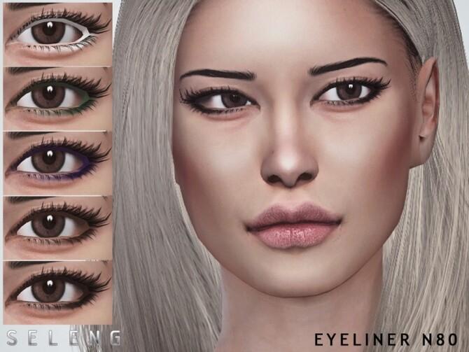 Sims 4 Eyeliner N80 by Seleng at TSR