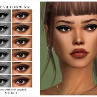 Eyeshadow N26 by Merci