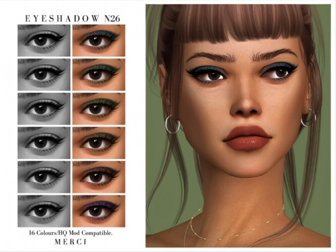 Eyeshadow N26 by Merci