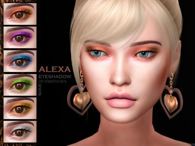 Alexa Eyeshadow N7 by Suzue at TSR image 445 670x503 Sims 4 Updates