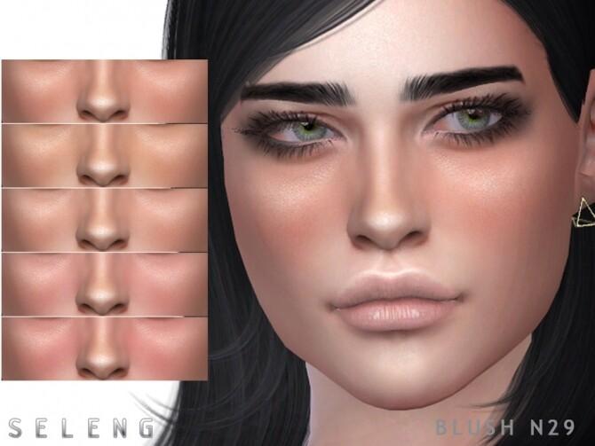 Sims 4 Blush N29 by Seleng at TSR