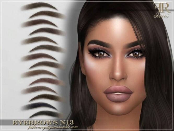 FRS Eyebrows N13 by FashionRoyaltySims