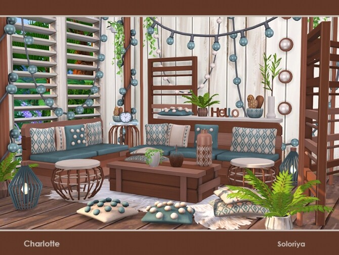 Charlotte living room by soloriya at TSR image 47 670x503 Sims 4 Updates