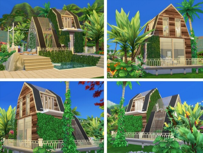 Melvina Summer House by Ineliz at TSR image 471 670x503 Sims 4 Updates