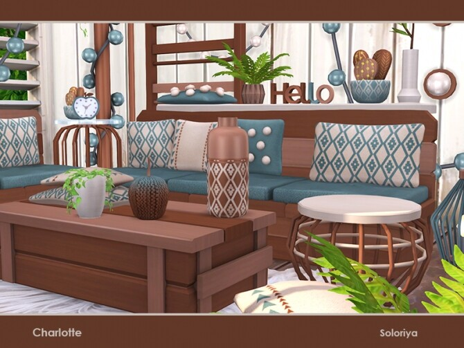 Charlotte living room by soloriya at TSR image 48 670x503 Sims 4 Updates