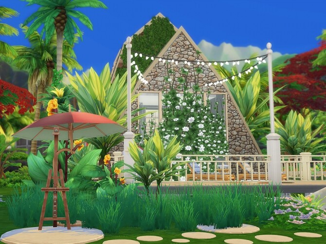 Melvina Summer House by Ineliz at TSR image 481 670x503 Sims 4 Updates