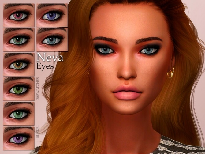 Sims 4 Neva Eyes N15 by Suzue at TSR