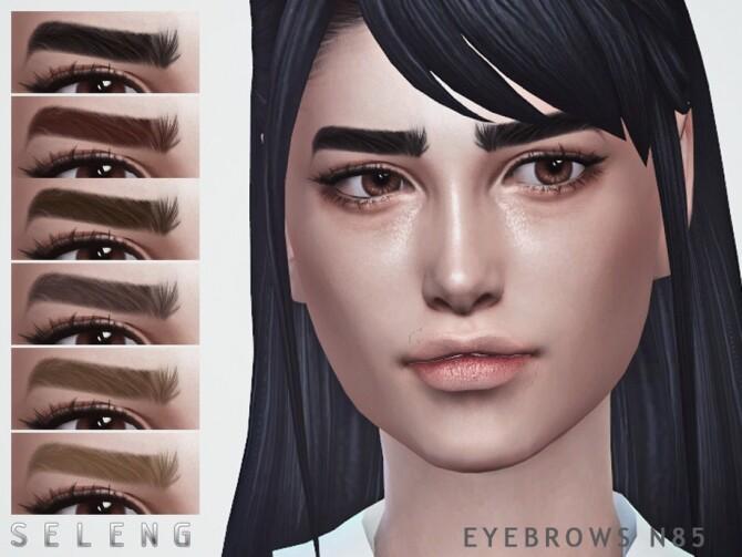 Sims 4 Eyebrows N85 by Seleng at TSR