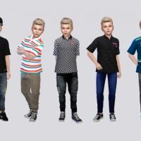 Casual Polo Kids by McLayneSims