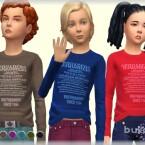 Long sleeves t-shirt for kids by bukovka