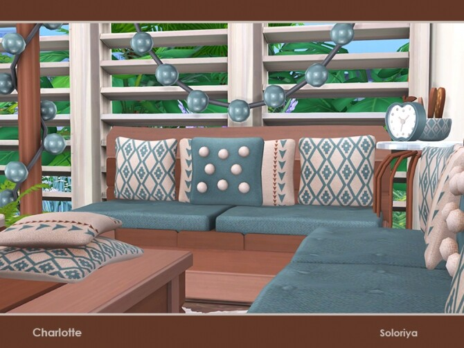 Charlotte living room by soloriya at TSR image 50 670x503 Sims 4 Updates
