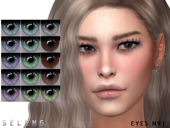 Sims 4 Eyes N91 by Seleng at TSR