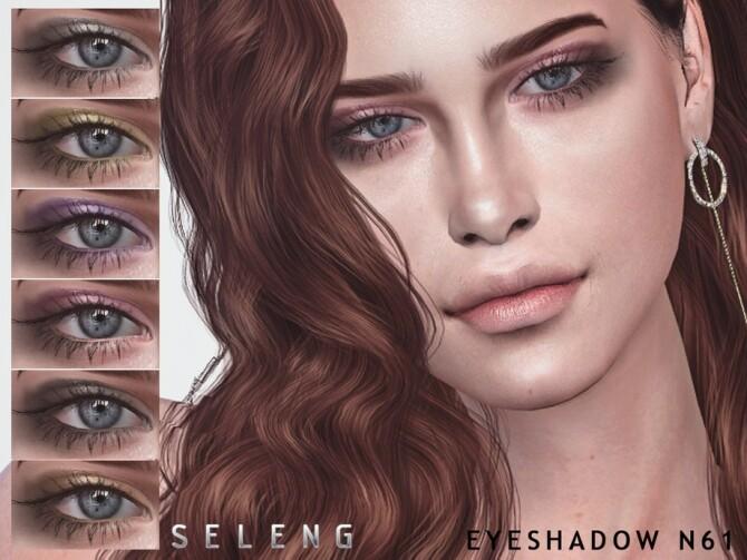 Sims 4 Eyeshadow N61 by Seleng at TSR