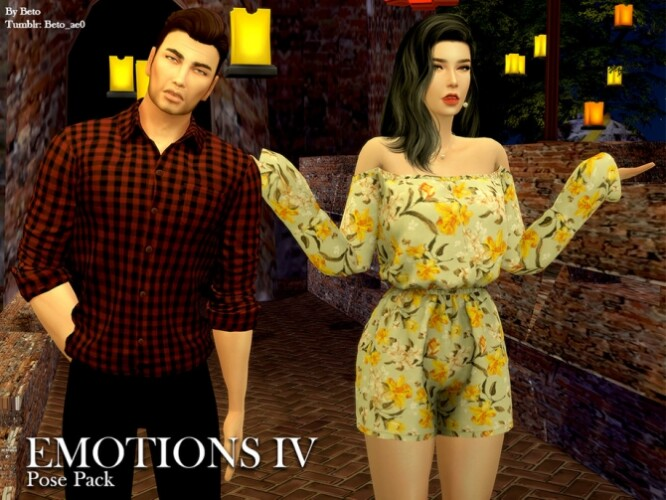Emotions IV Pose Pack by Beto_ae0
