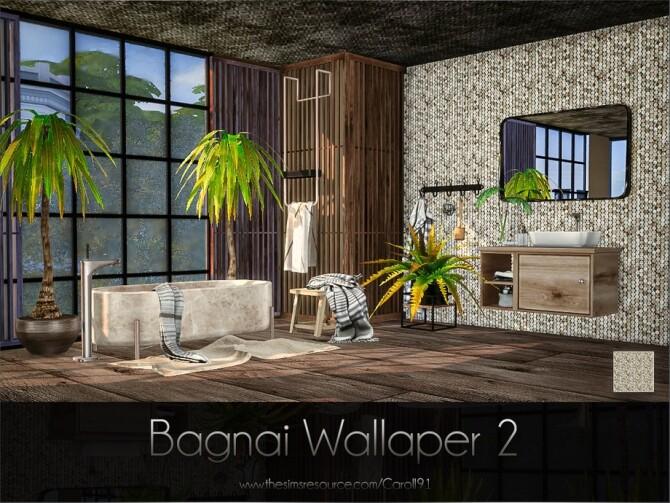 Sims 4 Bagnai Wallpaper 2 by Caroll91 at TSR