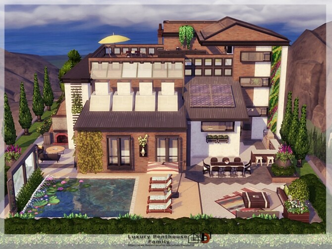 Luxury Penthouse Family by Danuta720 at TSR image 5123 670x503 Sims 4 Updates